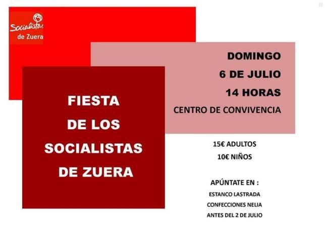 Fiesta de los Socialistas de Zuera