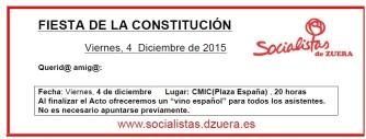 Carta constitución 2015