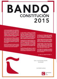 Bando Constitución 2015