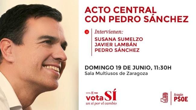 Acto Pedro Sánchez junio 2016