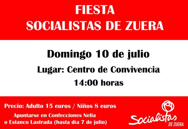Fiesta PSOE 2016